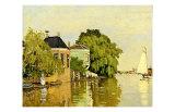 Landscape at Zaandam IV Giclée par Claude Monet