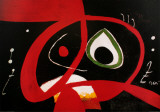 Kopf Reproduction d'art par Joan Miró