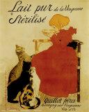 Lait Nestlé Reproduction d'art par Théophile Alexandre Steinlen