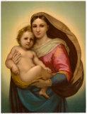 Madonna Reproduction d'art par Raphael