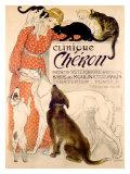 Clinique Cheron Giclée par Théophile Alexandre Steinlen
