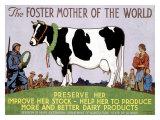 La mère du monde Foster Giclée par Richard Fayerweather Babcock