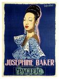 Josephine Baker Giclée par Guy-Gerard Noel