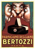 Parmesan Parmigiano Reggiano - Bertozzi Giclée par Achille Luciano Mauzan