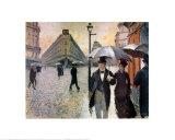 Paris  a Rainy Day  1877