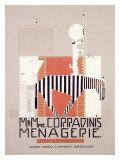 La ménagerie de M. et Mme Corradini Giclée par Alfonso Iannelli