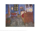 La chambre de Van Gogh à Arles Reproduction d'art par Vincent Van Gogh