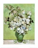 Bouquet de roses - Van Gogh Reproduction d'art par Vincent Van Gogh