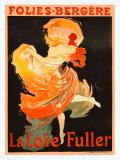 Folies Bergère, La Loïe Fuller Giclée par Jules Chéret