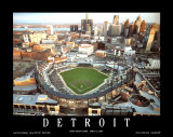 Detroit - First Night Game at Comerica Park