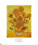 Vase avec douze tournesols, vers 1889 Reproduction d'art par Vincent Van Gogh