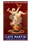 Café Martin Giclée par Leonetto Cappiello