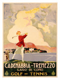 Cadenabbia to Tremezzo  Lago di Como  Golf and Tennis