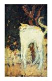 Le chat blanc Giclée par Pierre Bonnard
