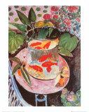 Poissons rouges Reproduction d'art par Henri Matisse