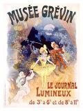 Musée Grévin, Le Journal Lumineux Giclée par Jules Chéret