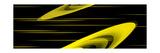 Vague d'éther jaune Reproduction d'art par Rabi Khan