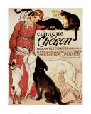 Clinique Cheron Reproduction d'art par Théophile Alexandre Steinlen