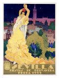 Sevilla Giclée par Estela