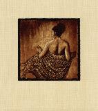 Drapée dans la lueur Reproduction d'art par Monica Stewart