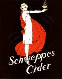 Schweppes Cider Reproduction d'art