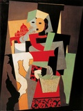 L'Italienne, c.1917 Reproduction d'art par Pablo Picasso