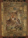 Léopard Reproduction d'art par Rob Hefferan