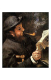 Portrait of Claude Monet Reading