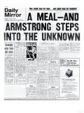 A Meal  and Armstrong Steps into the Unknown