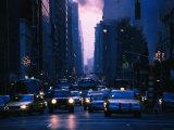 Traffic on 5th Avenue  New York City  New York  USA