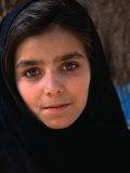 Girl at Aschiana School  Looking at Camera  Kabul  Afghanistan
