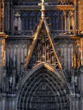 Facade of Cologne Cathedral  Cologne  Germany