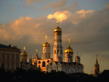 Ivan the Great Bell Tower  Sandwiched Between Kremlin Cathedrals  Moscow  Russia