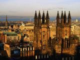 New College and New Town  Edinburgh  United Kingdom