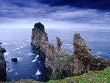 Coastal Rock Outcrops at Dun Balair  Tory Island  Ireland