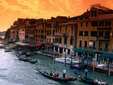 Grand Canal and Riva Del Vin  Venice  Veneto  Italy
