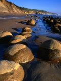 Bowling Ball Beach in the Point Arena Area  Mendocino  California  USA