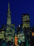 Trans-America Pyramid Building  San Francisco  USA