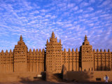 Djenne's Grand Mosque (1905) is the Largest Mud-Brick Building in the World  Djenne  Mopti  Mali