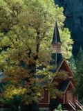 Yosemite Chapel  Yosemite Valley  USA