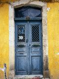 Doorway in Old Venetian Quarter  Hania  Crete  Greece