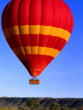 Hot Air Ballooning Over Northern Territory  Australia