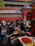 Bell Tower Street Market  Beijing  China