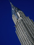 Top of Chrysler Building  New York City  USA