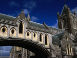 The Flying Bridge Section of Christ Church Cathedral Dating from Between 1871-78  Dublin  Ireland