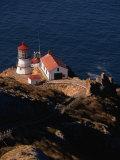 Point Reyes National Seashore Lighthouse  Marin County  California  USA