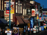 Shops on Beale Street  Memphis  USA