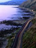 Paekakariki Road along the Kapiti Coast  Wellington  New Zealand