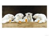 Polar Beers Giclée premium par Will Bullas