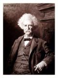 Portrait of Mark Twain  the Gallery of Modern Art  Pitti Palace  Florence